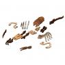 001-Деревянная пазл-модель скорпиона