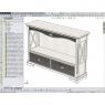 002-Комод (консоль) CAVIO FS3304