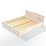 002-Кровать двуспальная (матрас: 2000х1600х220)