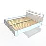 003-Кровать двуспальная (матрас: 2000х1600х230)