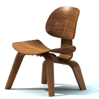 """006-Стул """"Lounge Chair Wood"""""""