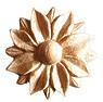 009-Розетка грандекор деревянная hcw-m-9024