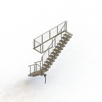 010-Лестница на больцах