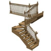 012-Лестница П-образная