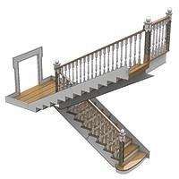 013-Лестница на бетонном основании