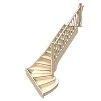 014-Лестница Г-образная
