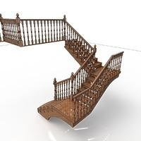 003-Лестница с площадками