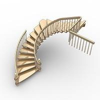 009-Лестница радиусная. Эскизный проект