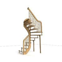 002-Лестница винтовая