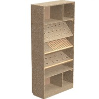 001-Шкаф для инстумента (фрезы, сверла, цанги...)