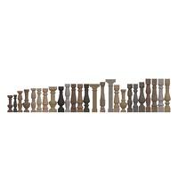 012-Балясины архитектурные гладкие (28 шт)