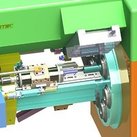 001-Модернизация 6-ти шпиндельного токарного автомата 1Б265Н-6К