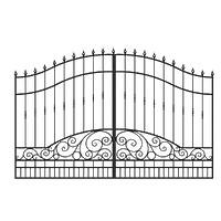 002-Ворота кованые