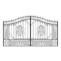 003-Ворота кованые