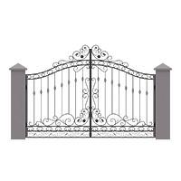 004-Ворота кованые