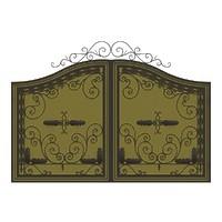 005-Ворота кованые